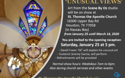 """Unusual Views"" Show at St. Thomas the Apostle Church in Houston"